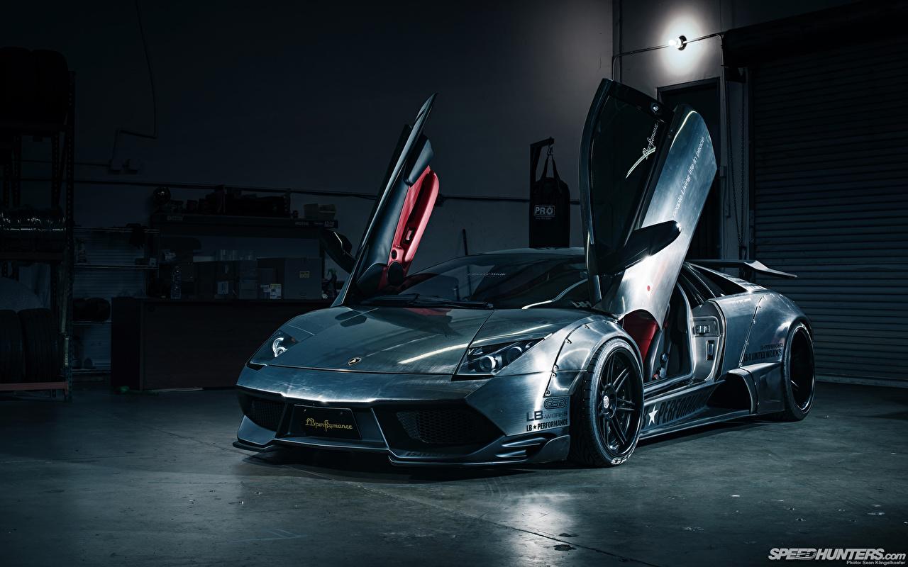 壁紙 ランボルギーニ 前照灯 正面図 メタリック塗 豪華な 自動車