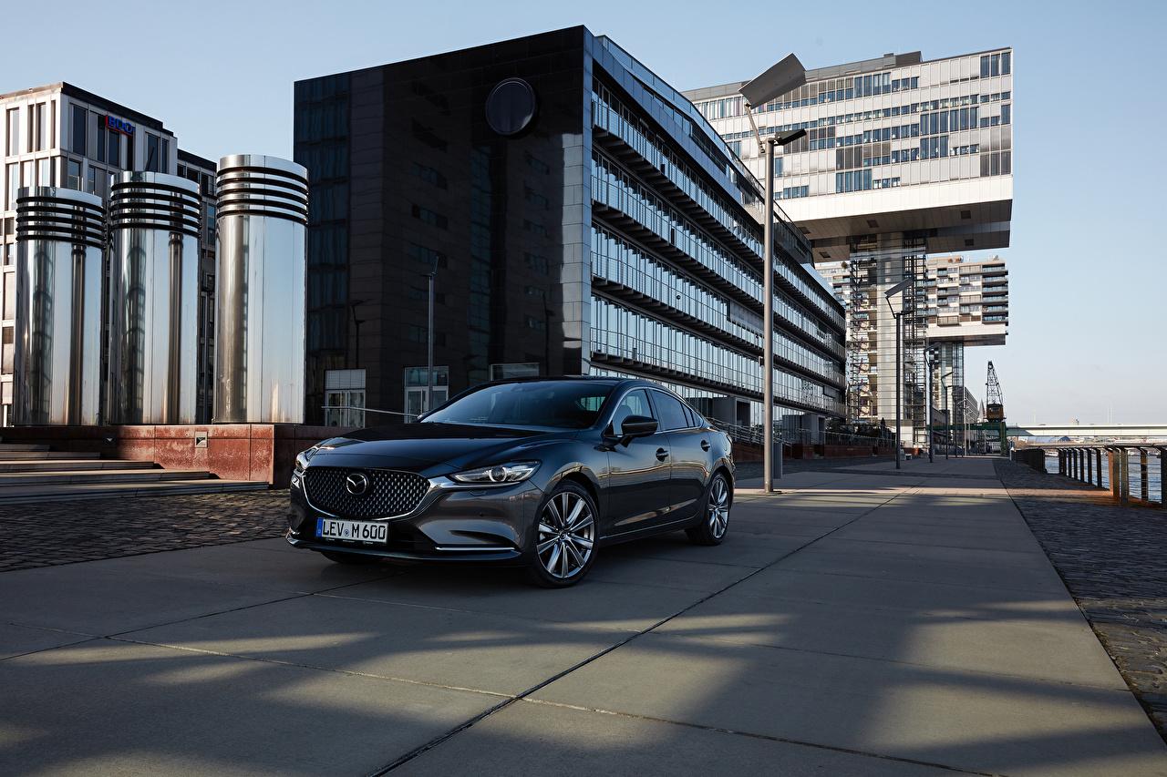 Image 2018-19 Mazda 6 Worldwide gray Cars Metallic Grey auto automobile