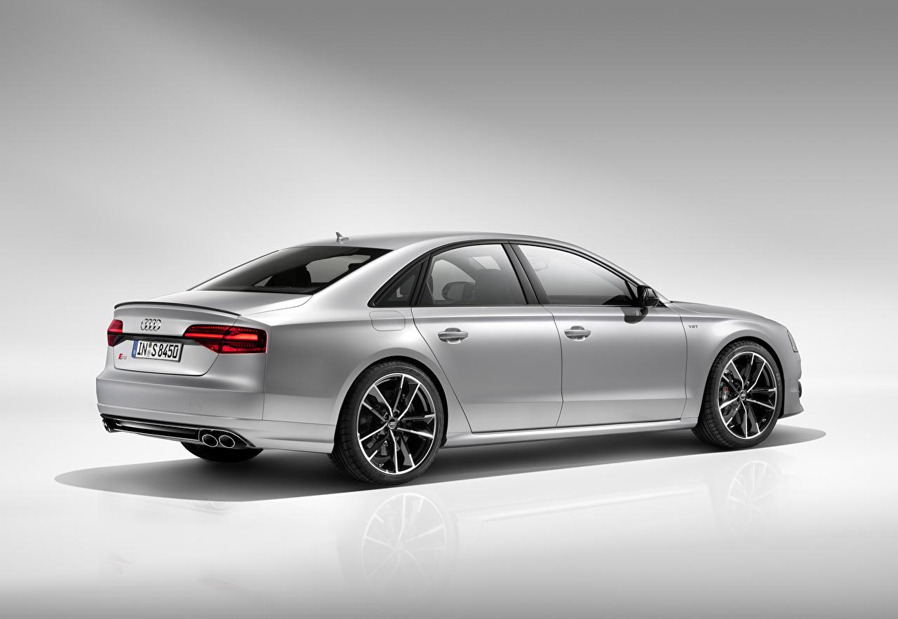 Sfondi Audi 2015 S8 plus d'argento Auto Argento colore macchine macchina automobile autovettura