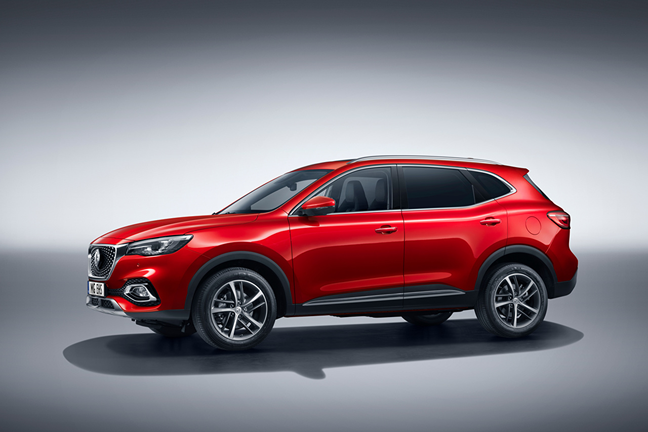 Photos CUV MG EHS Plug-in Hybrid, EU-spec, 2020 Hybrid vehicle Red auto Metallic Crossover Cars automobile