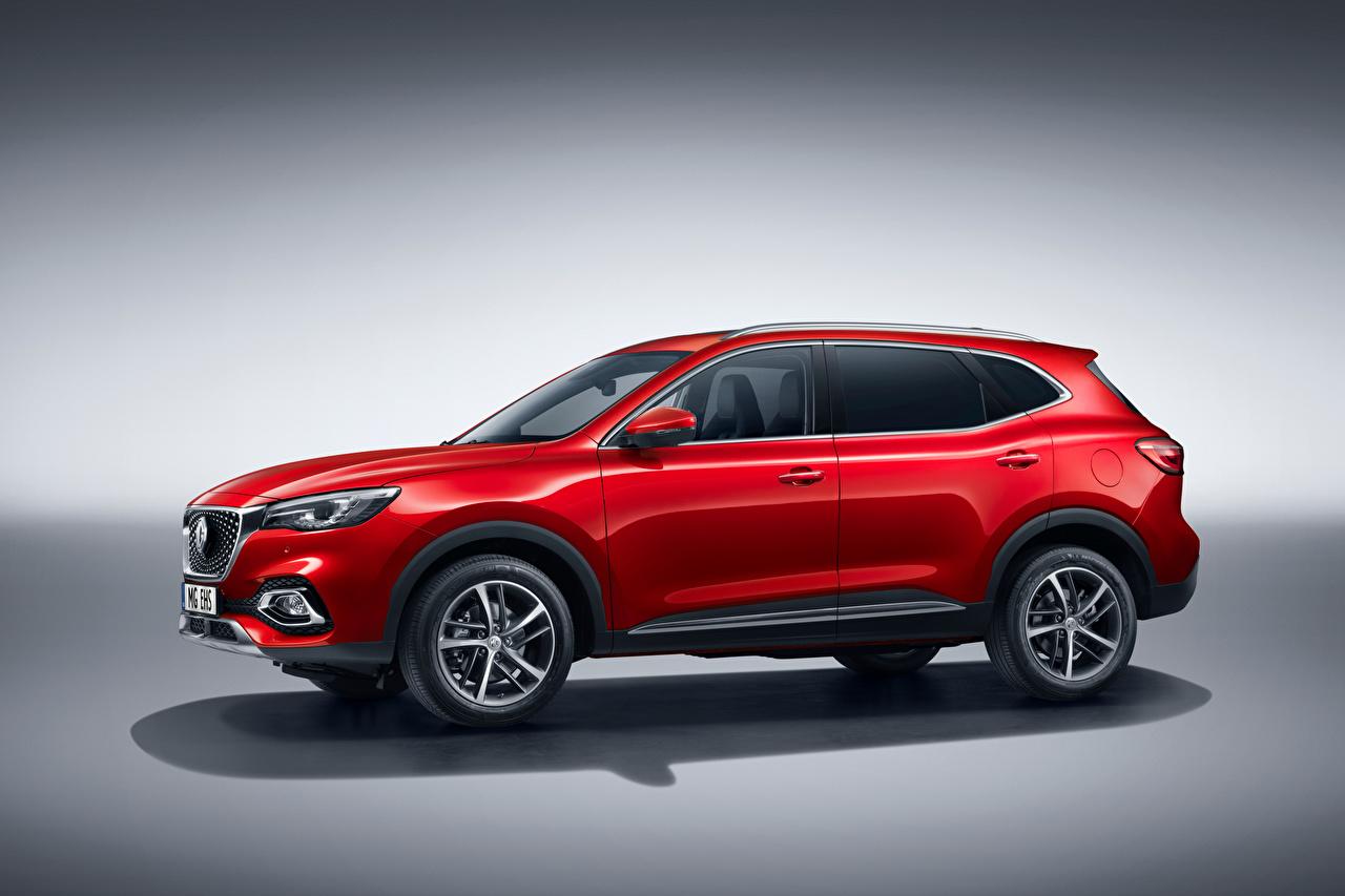 Photos CUV MG EHS Plug-in Hybrid, EU-spec, 2020 Hybrid vehicle Red auto Metallic Crossover Cars automobile