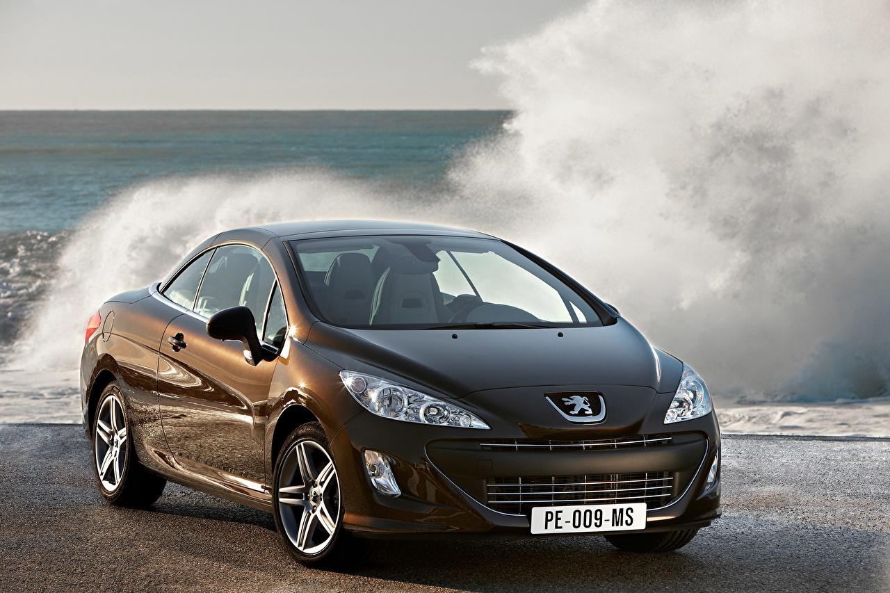 Wallpaper Peugeot 308 Brown Cars Metallic auto automobile