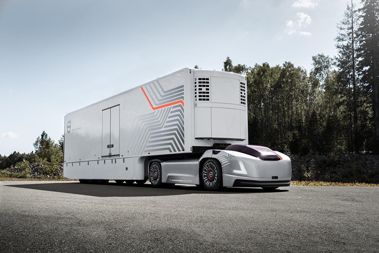 Images Volvo lorry VERA, self-driving car automobile Trucks Cars auto