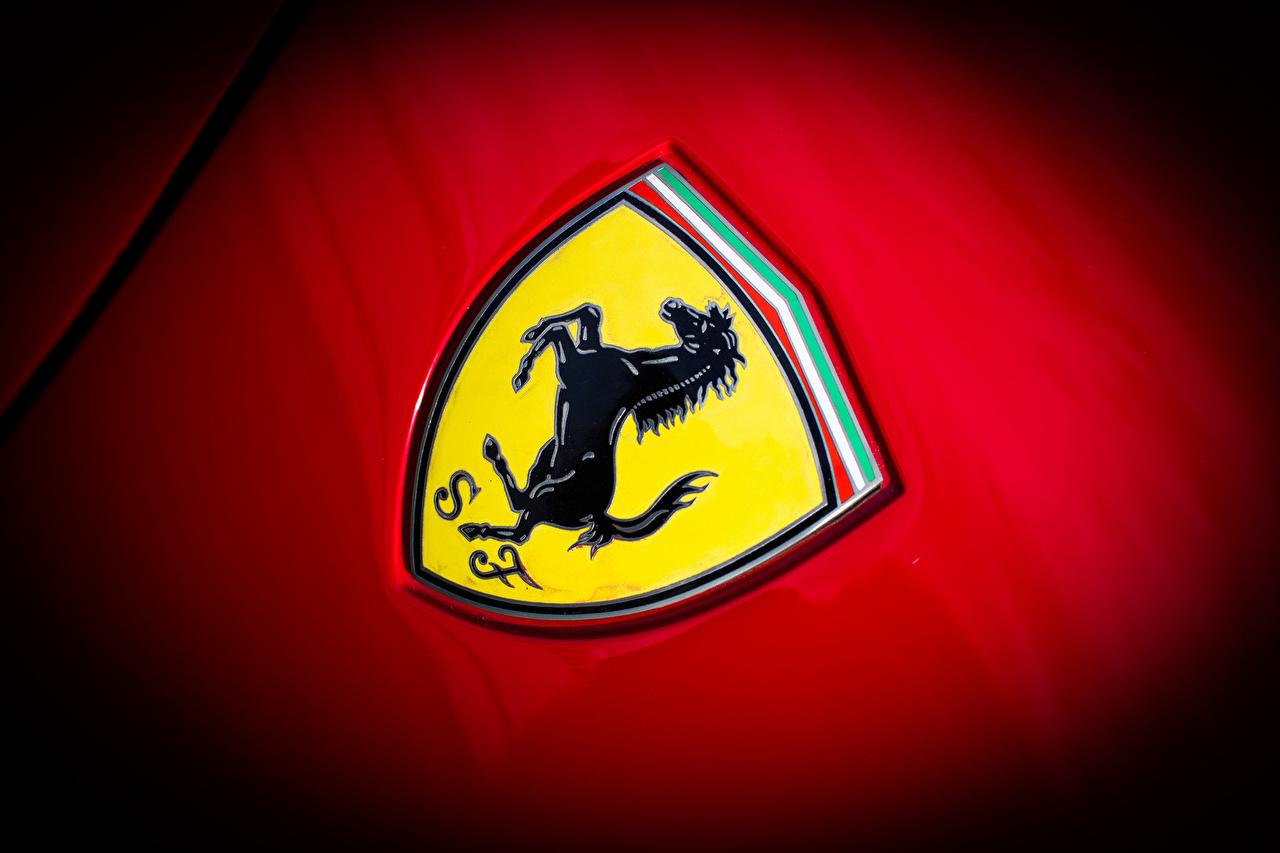 Pictures Ferrari Logo Emblem 288 Gto Automobile Closeup
