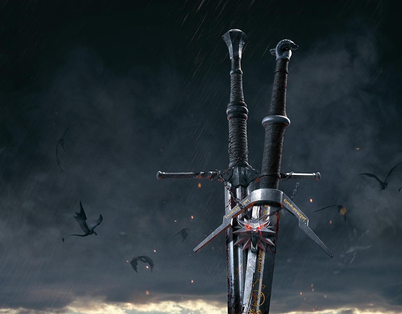 Bakgrunnsbilder The Witcher 3: Wild Hunt Sverd Fantasy Dataspill Nærbilde videospill