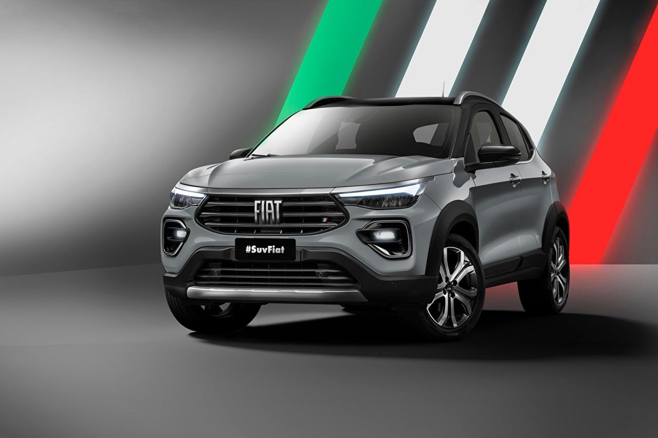 Immagini Fiat Crossover 363, 2021 grigia Auto Metallizzato CUV Grigio macchina macchine metallico automobile autovettura