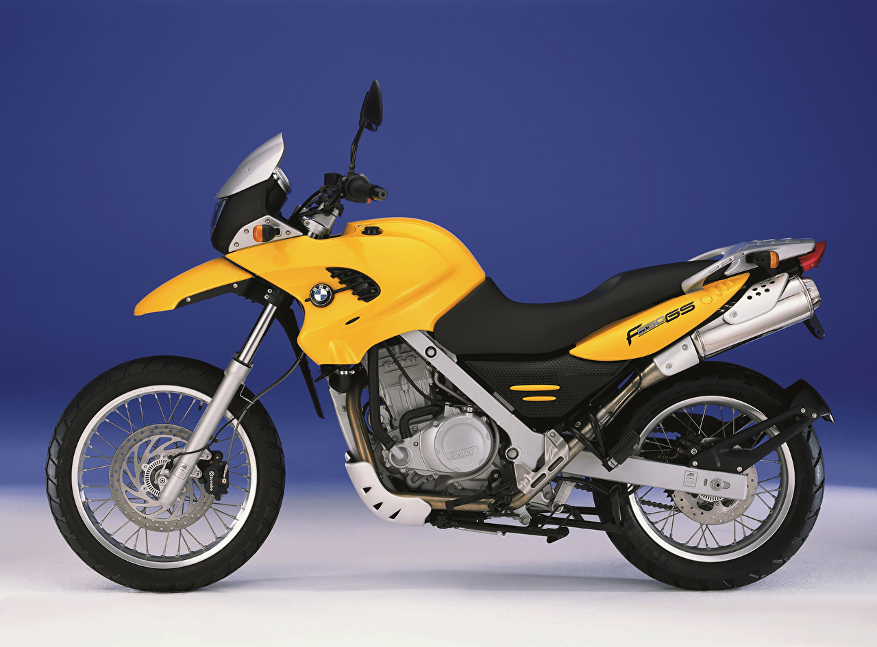 Images BMW - Motorcycle Yellow Motorcycles Side motorcycle