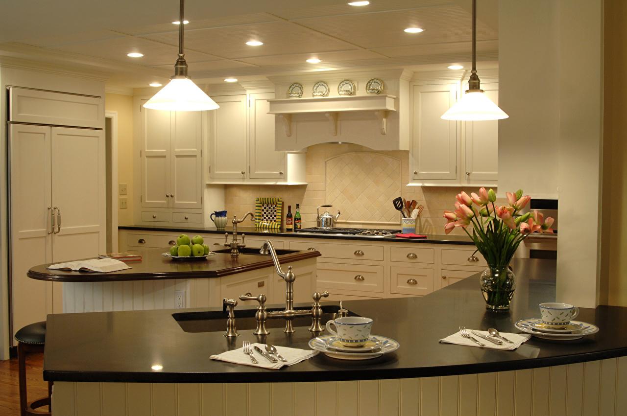 Picture Kitchen tulip Interior Cup Lamp Design Tulips