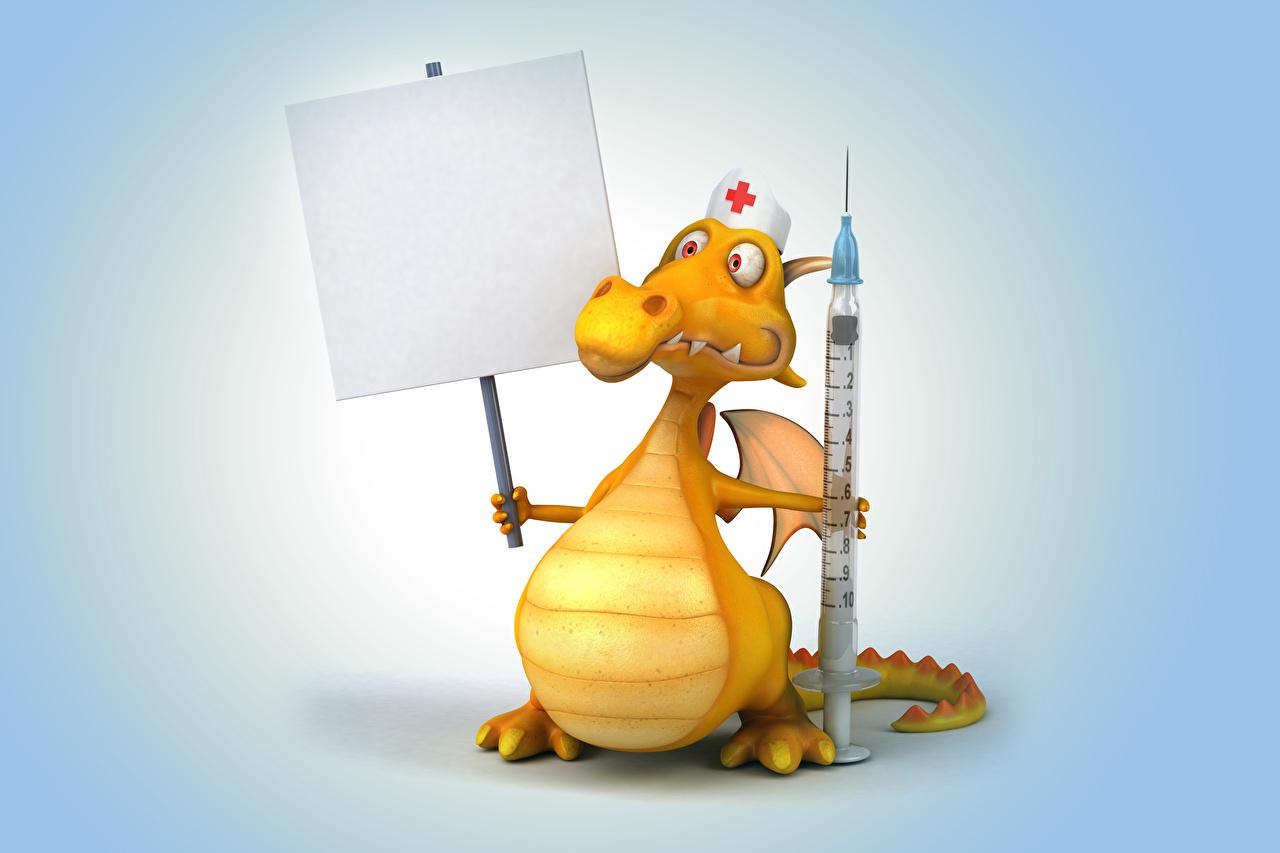 Fonds Decran Dragons Infirmière 3d Graphiques Télécharger Photo