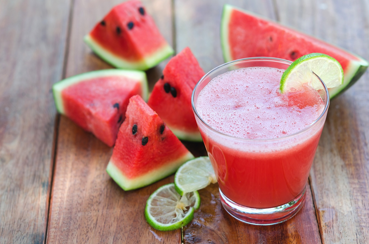 Picture Lime Watermelons Food Cocktail Mixed drink