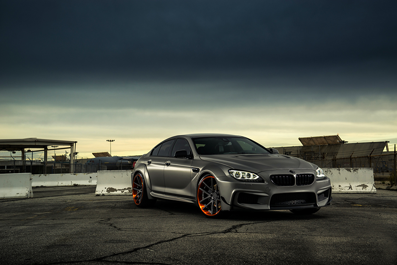 Images Bmw M6 Gran Coupe Jc Customs Matte Grey Auto