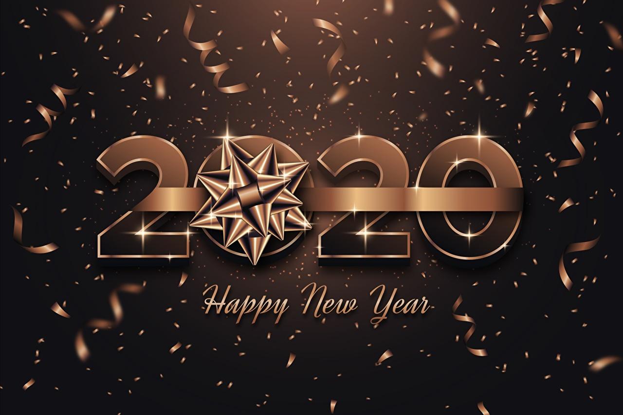 壁紙 新年 リボン 単語 英語 2020 ダウンロード 写真