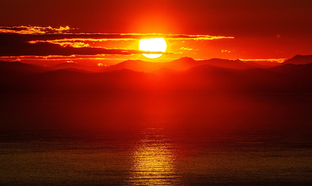 Foto Natur Sonne Gebirge Landschaftsfotografie Sonnenaufgänge und Sonnenuntergänge