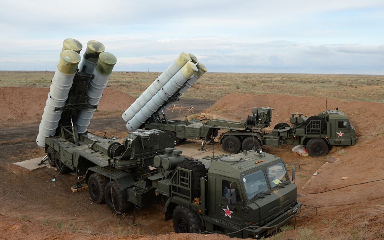 Photos Missile launchers Russian S-400 Army missile system military