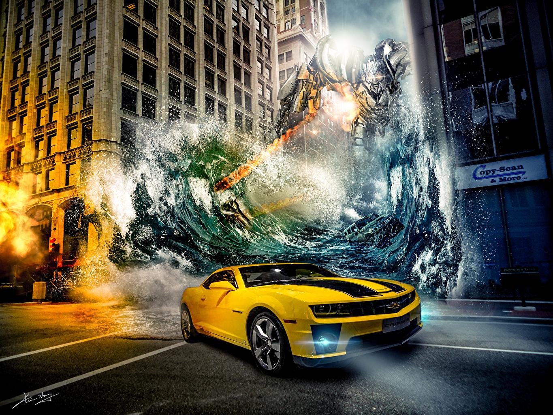 Photo Transformers - Movies Chevrolet Robot Fantasy Movies