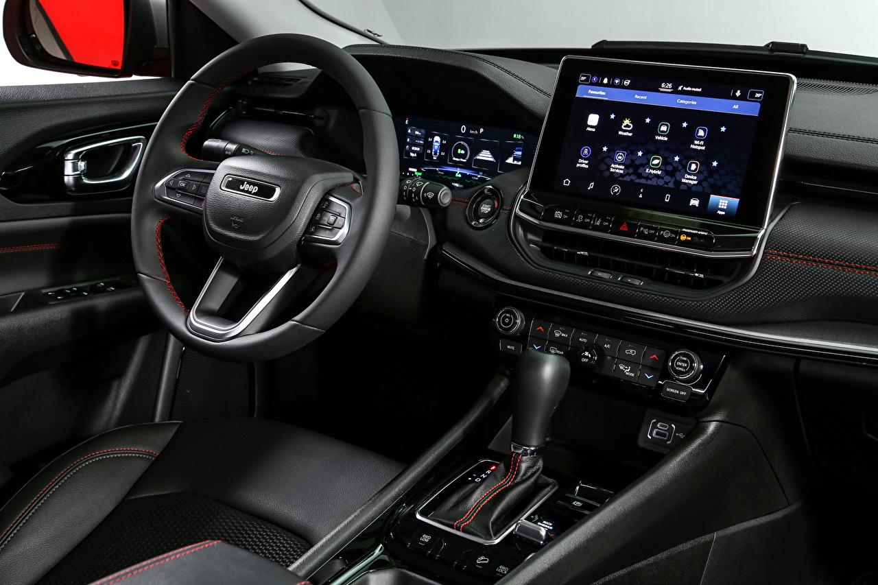 Jeep Salons Compass Trailhawk 4xe, EU-spec, (MP), 2021 Volante de dirección autos, automóvil, automóviles, el carro Coches