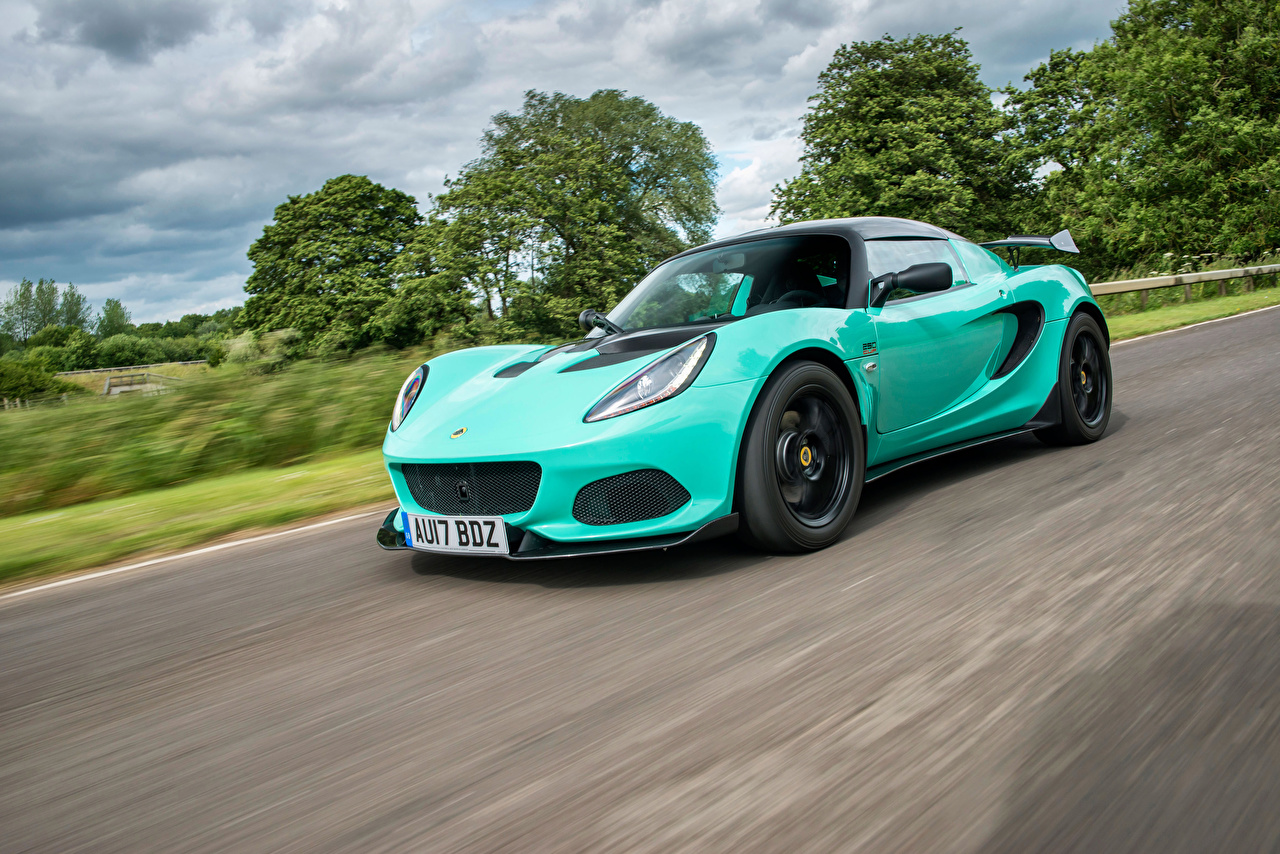 Picture Lotus 2017-18 Elise Cup 250 Motion automobile moving riding driving at speed Cars auto