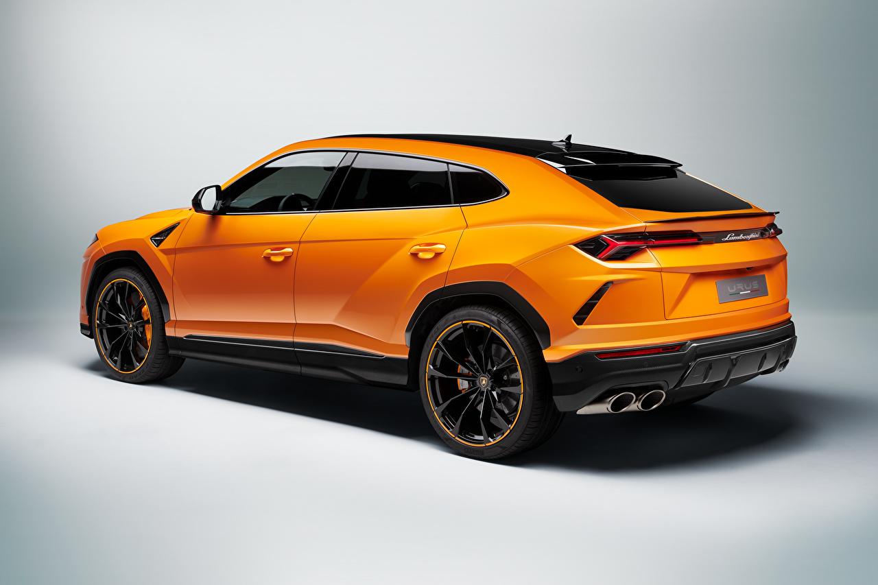Fotos von Lamborghini Crossover Urus, Pearl Capsule, 2020 Orange auto Metallisch Softroader Autos automobil