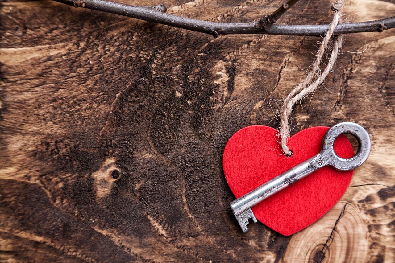 Fotos Valentinstag Herz Schlüssel Vorlage Grußkarte