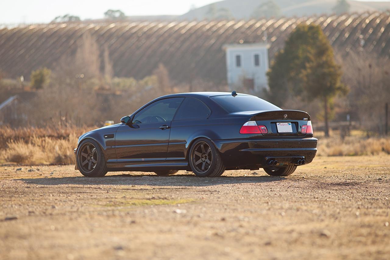 Photos Bmw M3 E46 Black Automobile