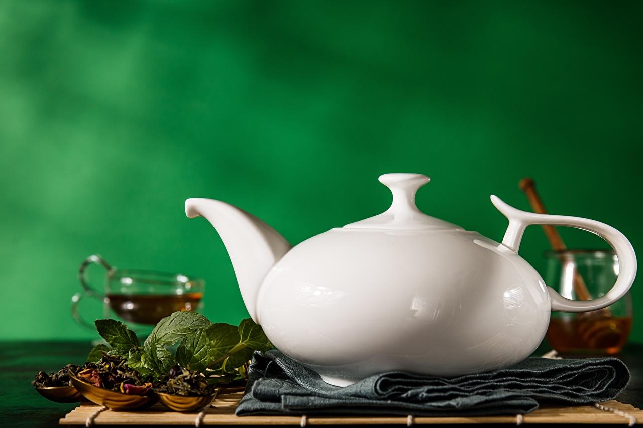 Wallpaper Tea White Kettle