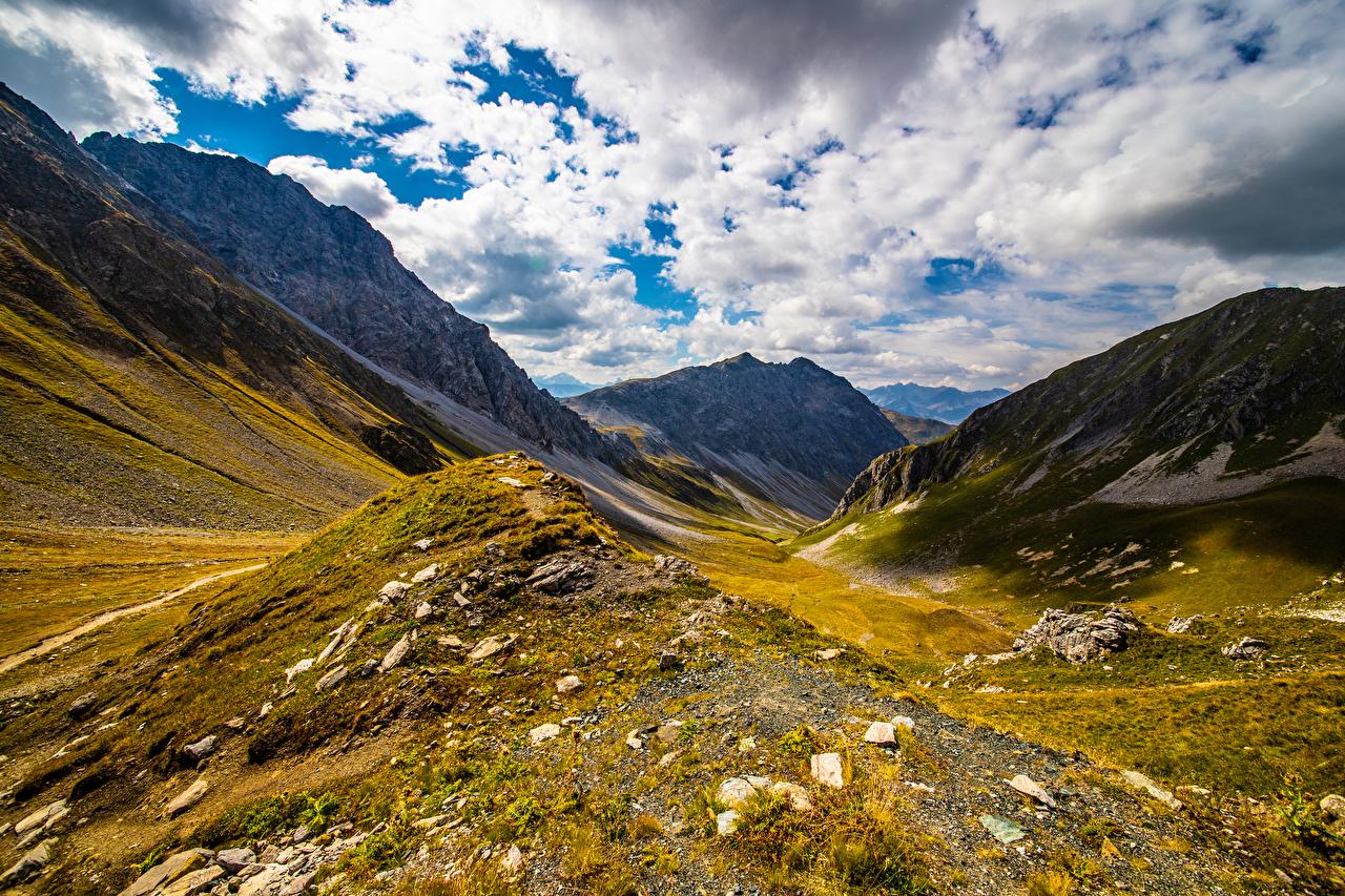 Bilder Alpen Schweiz Natur Gebirge Wolke Berg