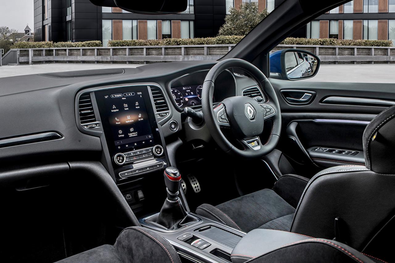 Desktop Hintergrundbilder Salons Renault Lenkrad Autos auto automobil