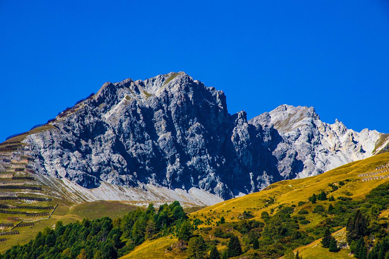 Photo Switzerland Crag Nature mountain Sky Rock Cliff Mountains