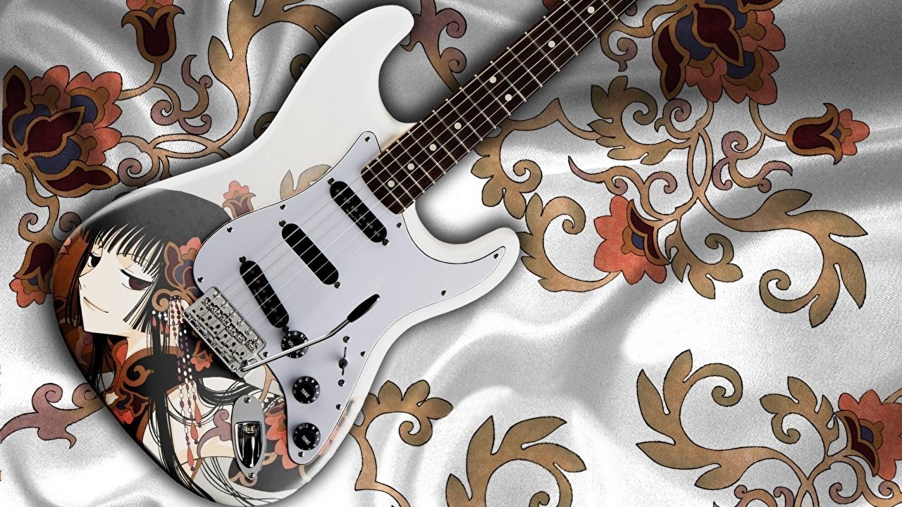 かっこいい黒のギターのiphone6以上 視差効果あり 壁紙 壁紙