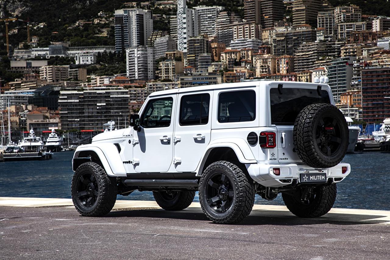 Image Jeep Tuning Sport utility vehicle White auto SUV Cars automobile