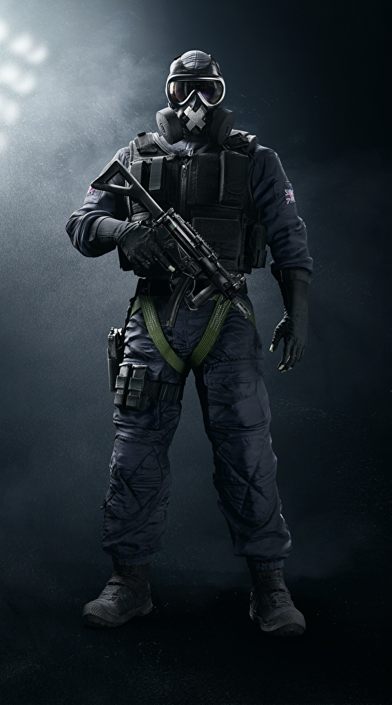 Images Tom Clancy's Rainbow Six Siege Soldiers Assault rifle British SAS Mute vdeo game  for Mobile phone soldier Games