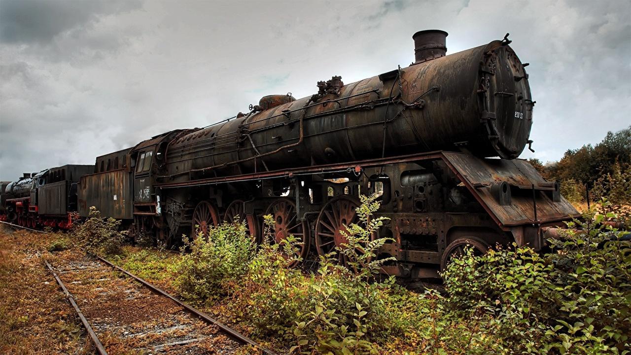 Wallpaper Locomotive Vintage Trains
