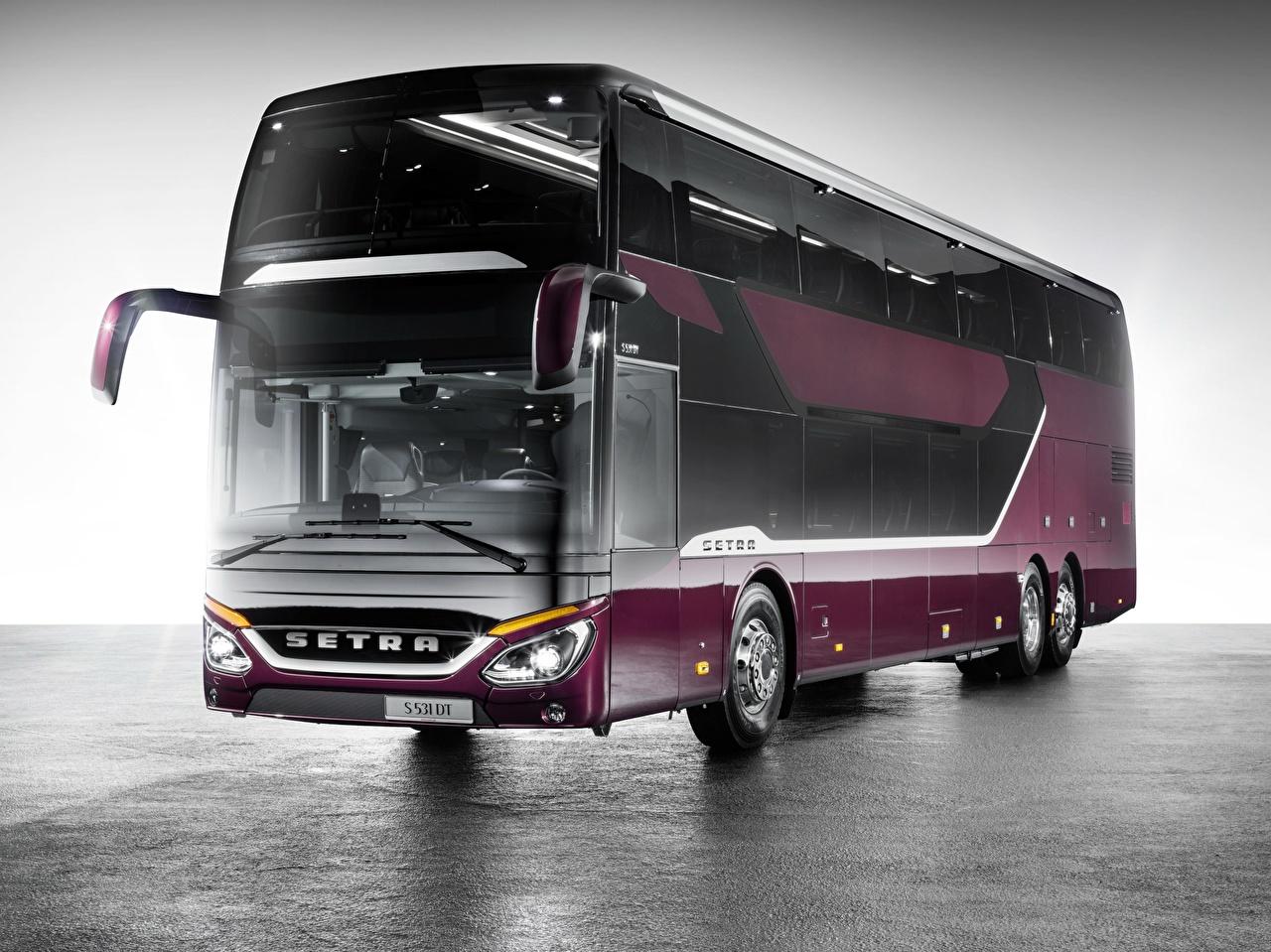 Pictures Bus Setra Cars auto automobile
