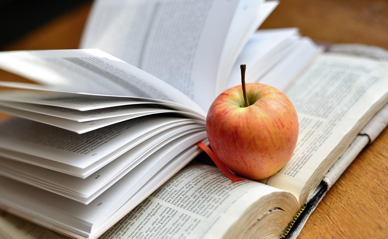 Photo Apples Book Food books