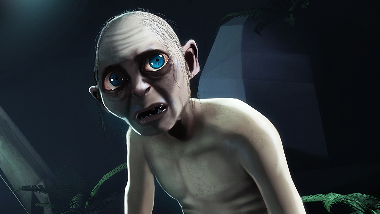Photos The Lord of the Rings Gollum Fantasy Movies Glance film Staring