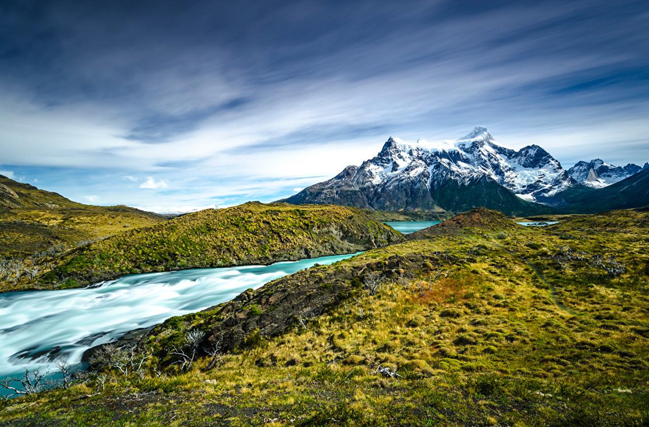 Bilder von Chile Torres del Paine National Park, Patagonia Natur Gebirge Parks Berg Park
