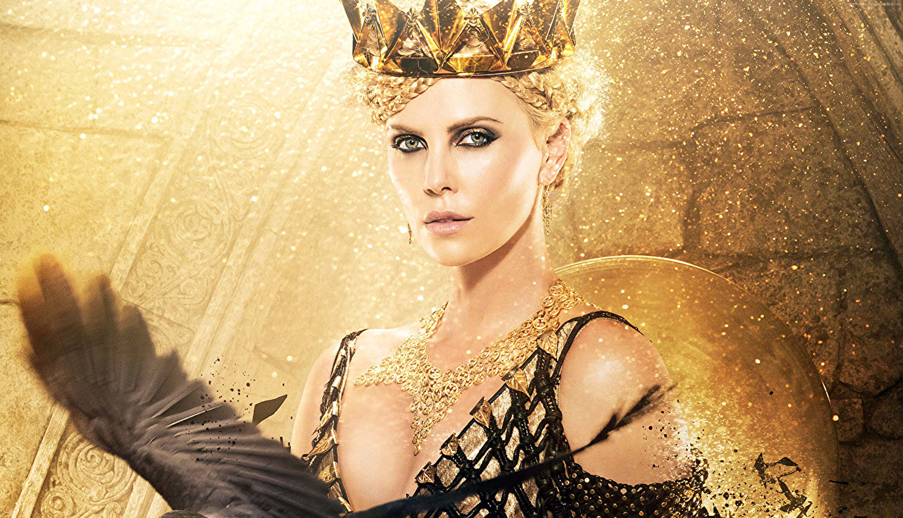 Foto Snow White and the Huntsman The Huntsman & The Ice Queen Charlize Theron Krone junge Frauen Film Prominente Mädchens junge frau