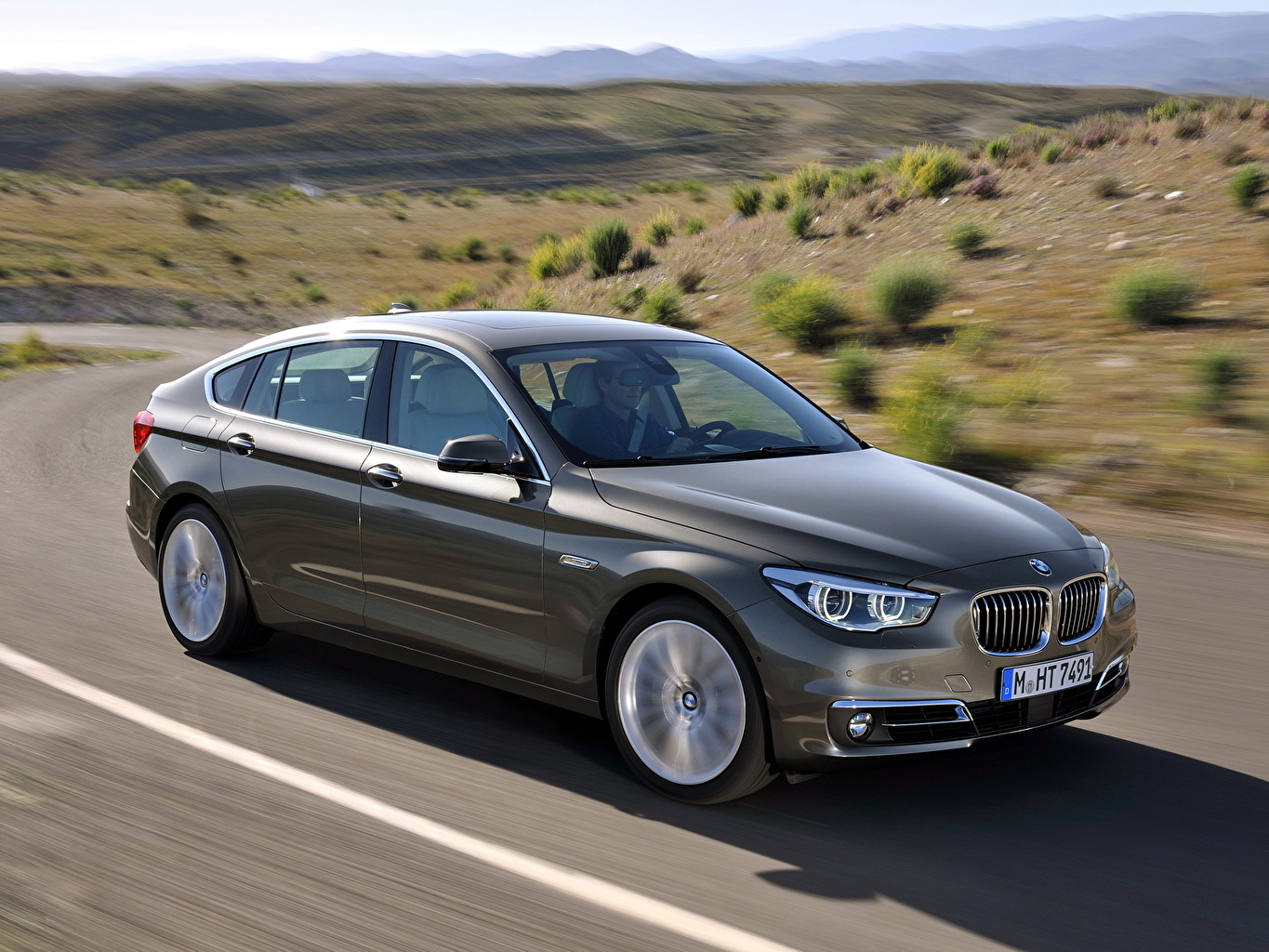 Images Bmw 535i Xdrive Gran Turismo Luxury Line Auto Side