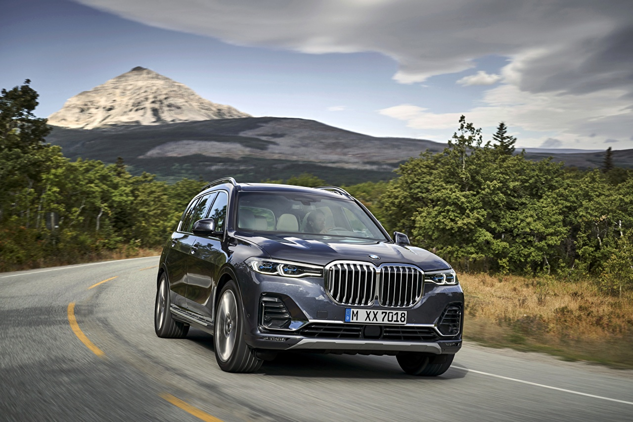 Desktop Wallpapers BMW CUV 2019 X7 G07 auto Crossover Cars automobile
