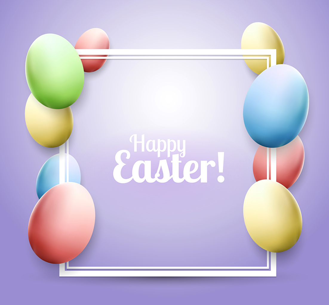 Picture Easter English Multicolor egg Colored background Eggs