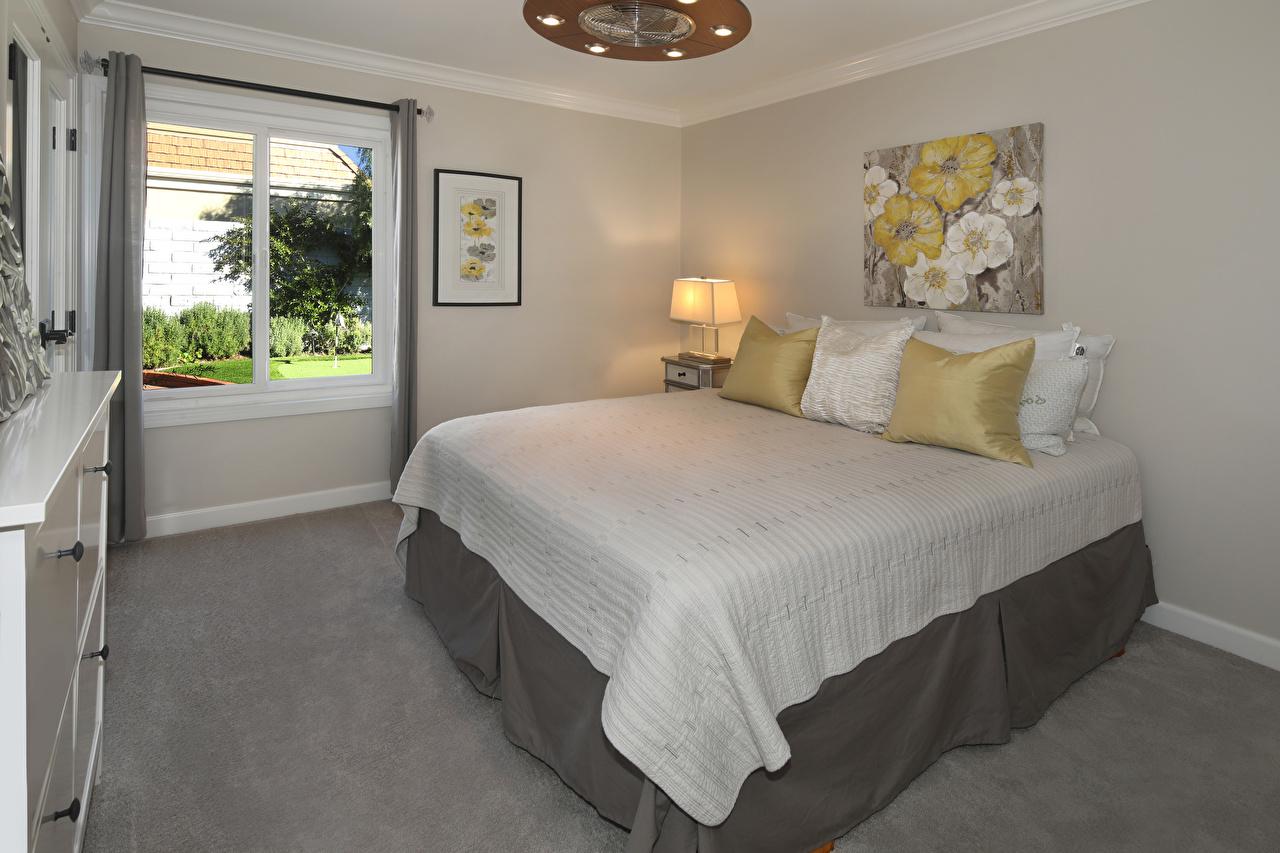 Bilder von Schlafzimmer Innenarchitektur Bett Kissen Design Schlafkammer