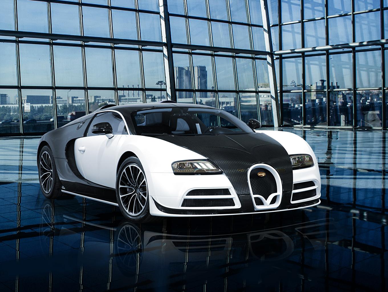 Photo Tuning BUGATTI 2014 Veyron 16.4 Vivere (Mansory) luxurious auto Front Luxury expensive Cars automobile