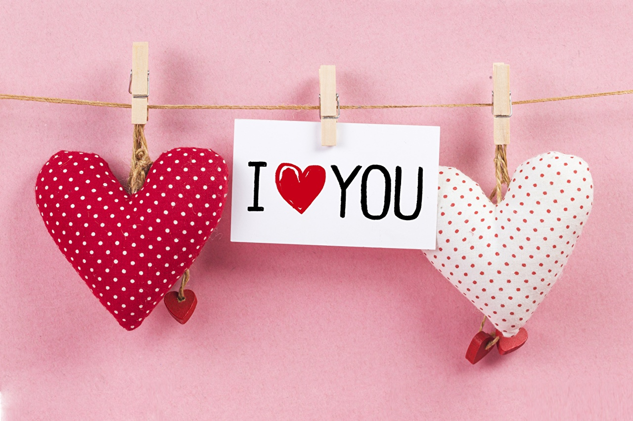 Images Valentine's Day English Heart Word - Lettering text lettering
