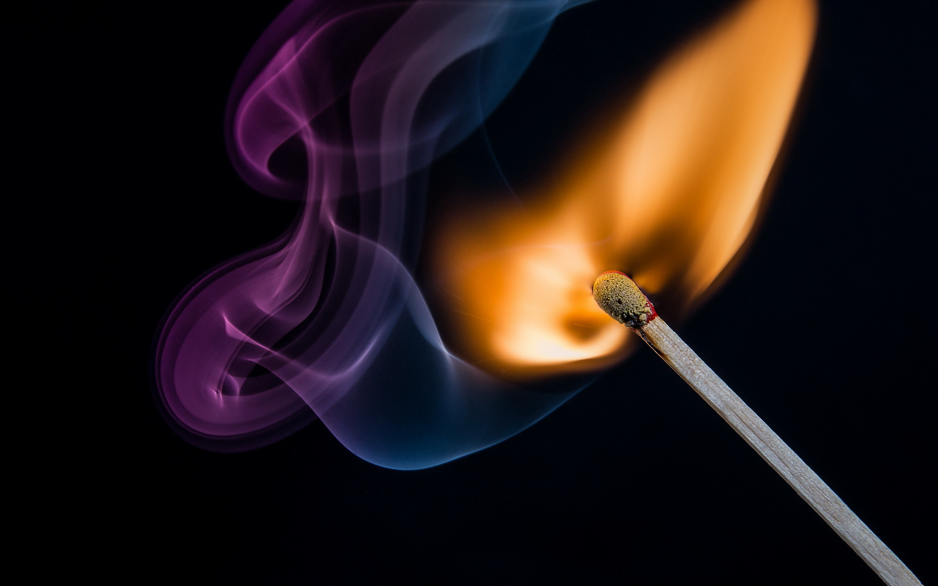 Image result for a purple match flame