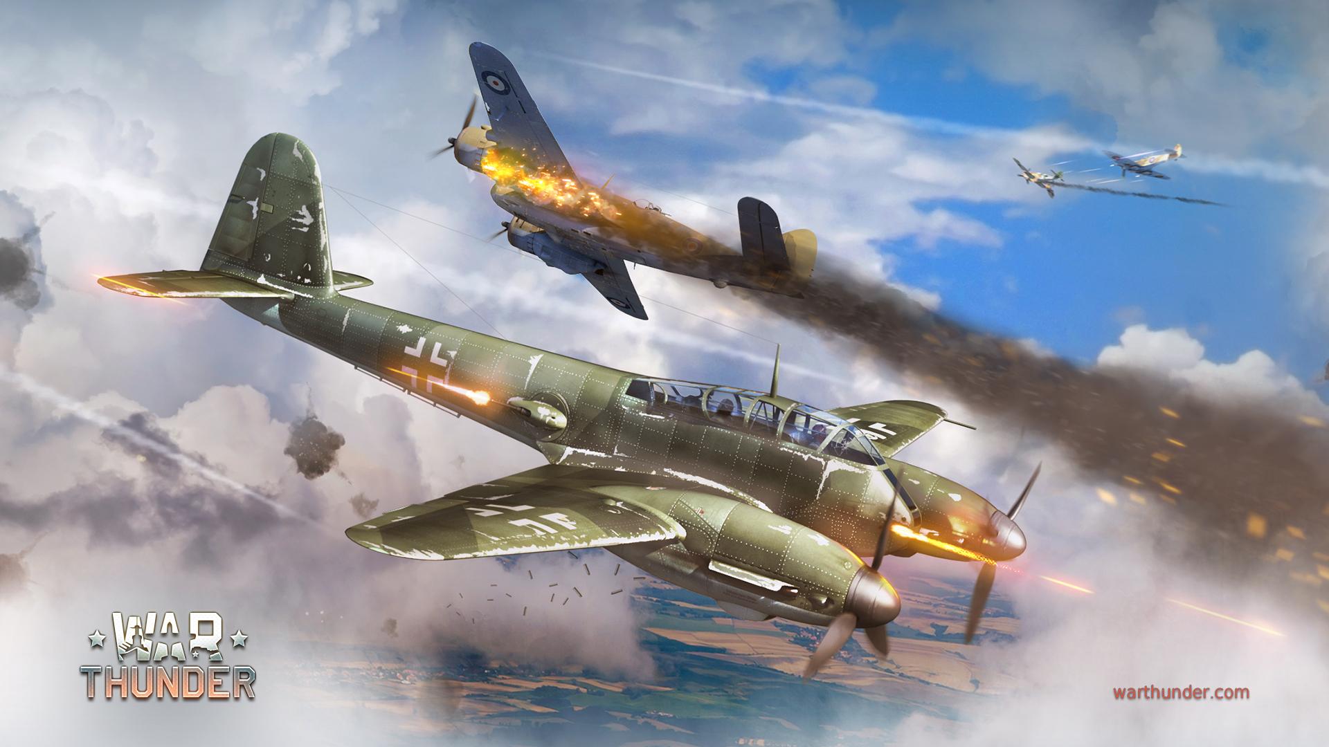 Fondos De Pantalla 1920x1080 Avión De Caza War Thunder