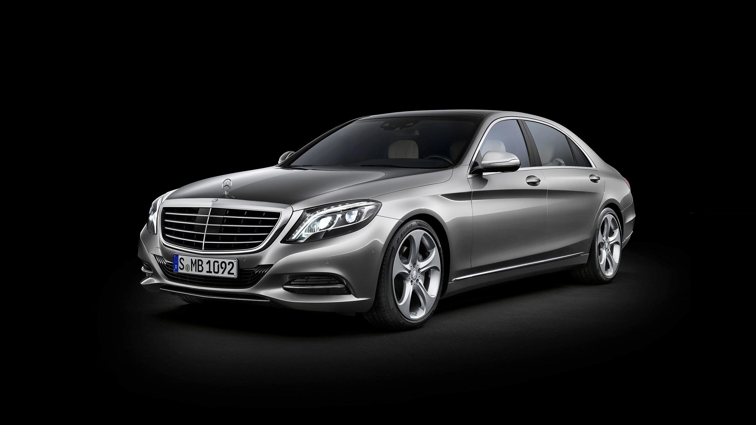 Фотографии Mercedes-Benz W222, s-class Серый Металлик Автомобили Мерседес бенц серая серые авто машины машина автомобиль