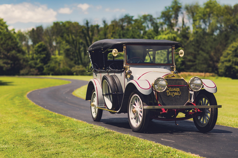 Desktop Wallpapers 1913 Stevens-Duryea Model C-Six 5-passenger Touring Retro automobile vintage antique Cars auto