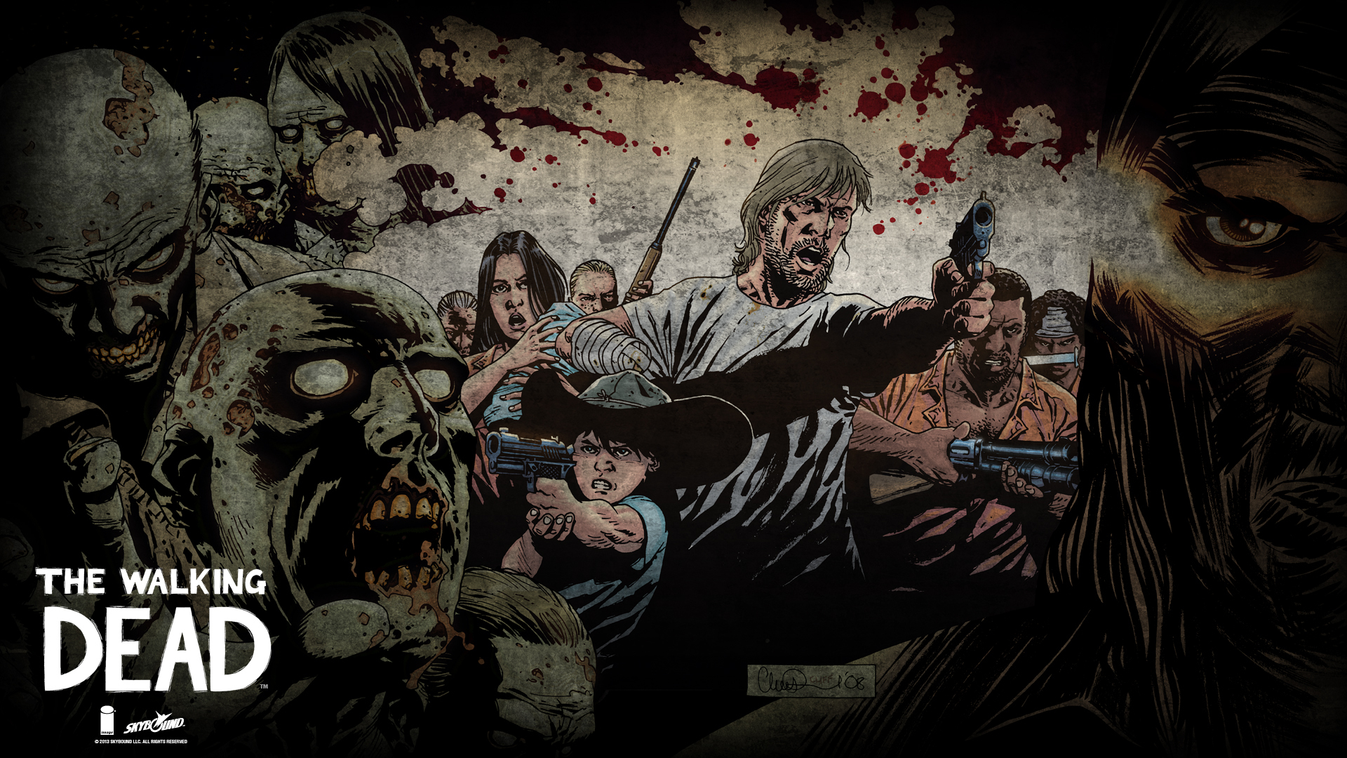 Pictures The Walking Dead Tv Zombie Superheroes Man The