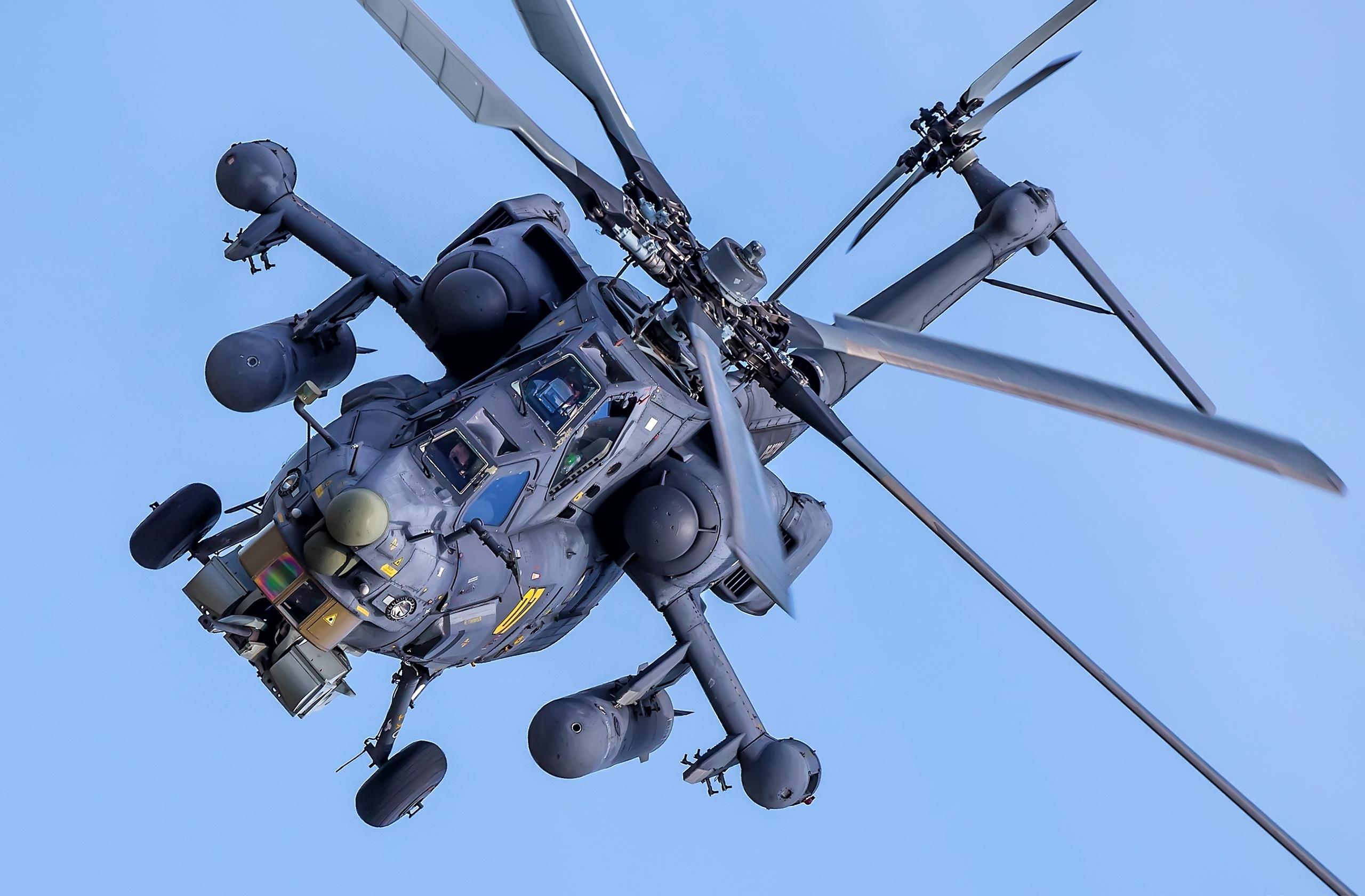 Fotos Hubschrauber russischer Mil Mi-28H Luftfahrt Russische russisches