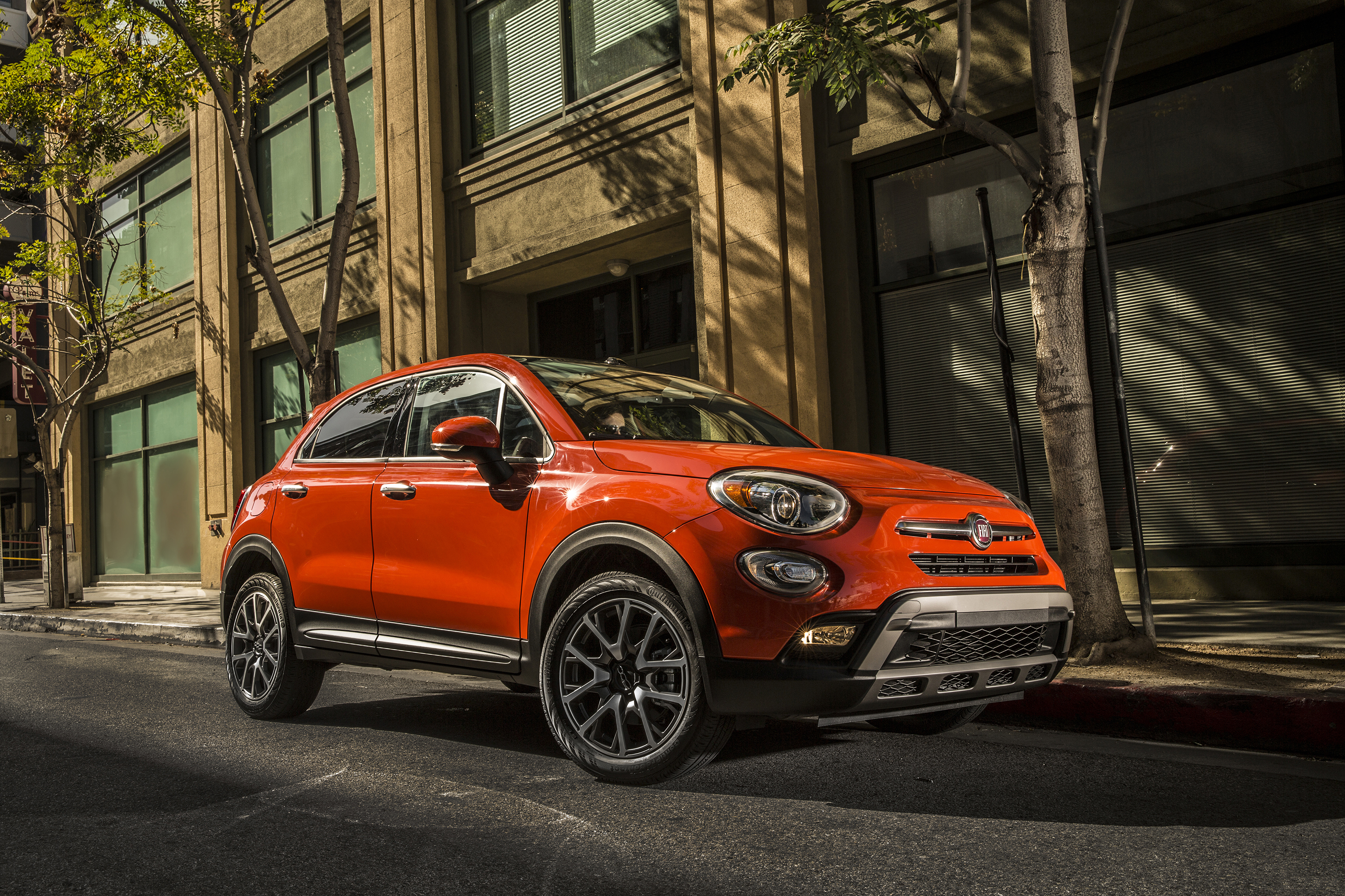 Photo 2015 Fiat 500X Trekking Orange auto 3000x2000 Cars automobile